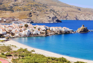 andros island aneroussa hotel chora