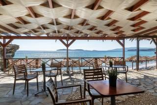aneroussa beach hotel beach bar-min