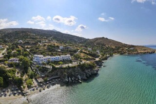 facilities-aneroussa-beach-hotel-private-beach-aerial