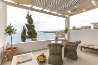 standard triple room aneroussa balcony